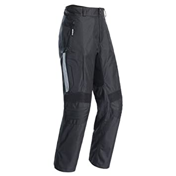 Cortech GX-Sport Men\'s Textile Armored Motorcycle Pants (Black, Tall 38/X-Large) 8983-0105-17