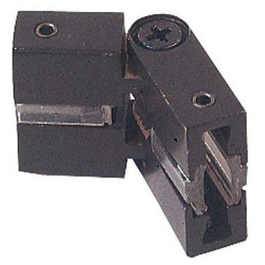 (George Kovacs GKCL-B-467, Lightrails Low Voltage L Shaped Track Light Connector,Sable Bronze)