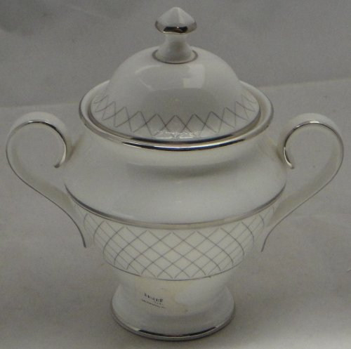 - Waterford Crosshaven Platinum Sugar Bowl & Lid