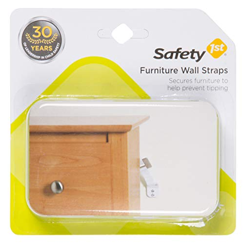 (Safety 1st Furniture Wall Straps 2 Count)