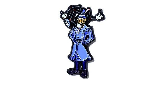 Cool Detective Inspector Gadget Coleccionable Colgante Sombrero de ...