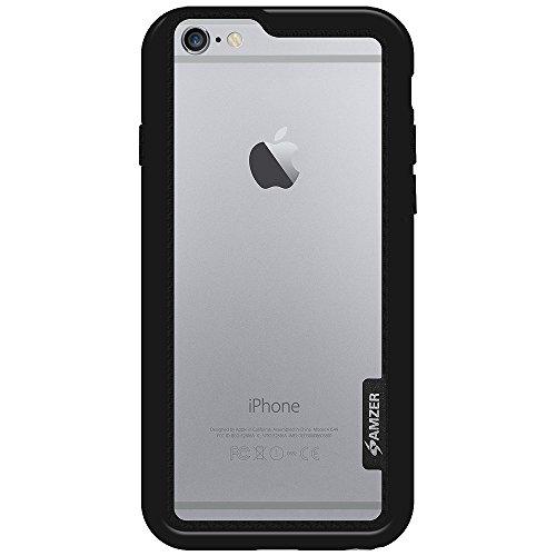 Amzer Cadre de Coque pour iPhone 6Plus–Noir