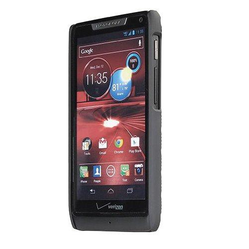 (Verizon Motorola Droid RAZR M Shell Holster Combo with Stand - Original MOTXT907HOC - Non-Retail Packaging - Black)