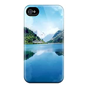 Pretty Bus16225eOAf Iphone 4/4s Cases Covers/ Magic Mountains Series High Quality Cases