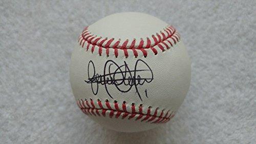 Elvis Andrus Autographed Baseball Texas Rangers JSA Certified
