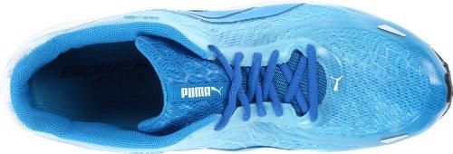 Puma Uomo Bioweb Elite Ltd Scarpa Da Corsa Bianco / Blu Brillante