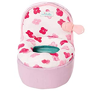 Manhattan Toy Baby Stella Playtime Potty Chair Baby Doll Accessory for 12″ and 15″ Soft Dolls