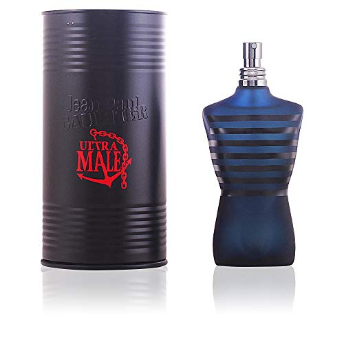 (Jean Paul Gaultier Ultra Male for Men Intense Spray, Eau de Toilette, 4.2 Ounce )