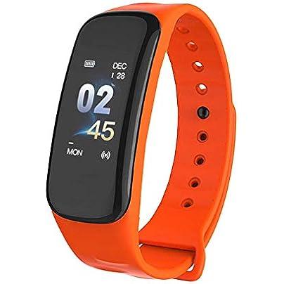 ZHONGYUAN Smart wristband blood pressure fitness smart bracelet sports bracelet heart rate monitoring bracelet Estimated Price £26.00 -