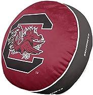 Team Logo 15 Inch Ultra Soft Stretch Plush Pillow (South Carolina Gamecocks - Team Color,)