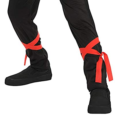 AMSCAN Shadow Ninja Halloween Costume for Boys, Medium, with Included Accessories: Toys & Games