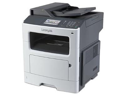 Lexmark 35ST805 MX410DE Laser Multifunction Printer - Monochrome - Plain Paper Print - Desktop - Copier/Fax/Printer/Scanner - 40 ppm Mono Print - 1200 x 1200 dpi Print - 40 cpm Mono Copy - Touchscreen - 1200 dpi Optical Scan - Automatic Duplex Print - 300