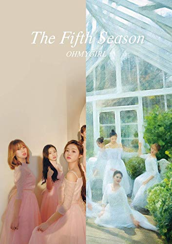 KPOP Oh My Girl - 1st Regular Album, The Fifth Season, Drawing + Photography Cover all versions Set, 2CD + 2Photobooks + Photocards + 2Museum Tickets + 2POP-UP Cards + 2Folded Posters