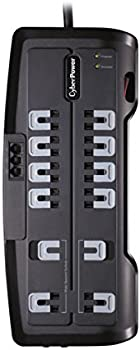 CyberPower 6 Feet 12 Outlets Surge Protector