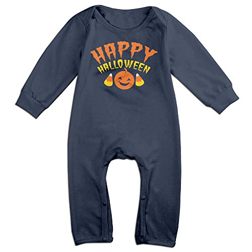 Ahey Newborn Happy Halloween Long Sleeve Bodysuit Outfits 6 M (Joker Jack Child Costume)