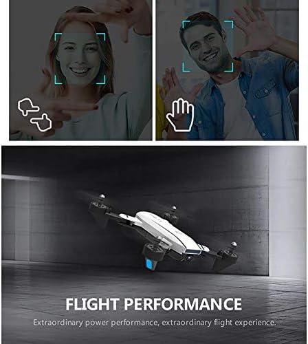 Drone avec Deux caméras 1080P HD WiFi FPV 2.4G Mini Télécommandé Quadcopter avec Mode Sans Tête, Transmission d'Images et Vidéo en Temps Réel, Durée Vol de 20 Minutes, SG700-D Quadricoptère
