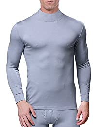 "<span class=""a-offscreen"">[Sponsored]</span>Men's Modal Mock Thermal Turtleneck Long Sleeve Basic Solid T Shirt"