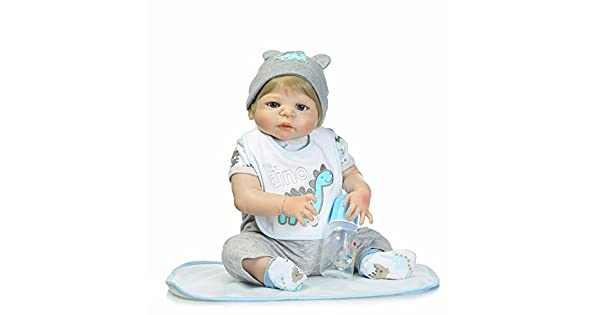 Amazon.com: Full Body Reborn de silicona bebé Tan Real ...