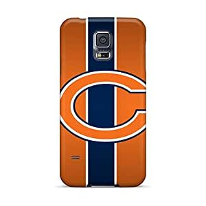 Protector Hard Cell-phone Case For Samsung Galaxy S5 With Allow Personal Design Colorful Chicago Bears Series KimberleyBoyes
