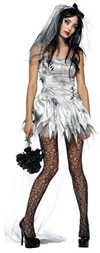 Zombie Bride Adult Costume - (Zombie Bride And Groom Costume)