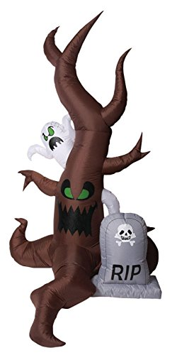 Morbid Enterprises Ghost Tree Inflatable Halloween Decor, Multi, One Size