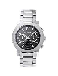 Wittnauer WN3003 Men's Adien Gunmetal Dial Stainless Steel Chronograph Watch