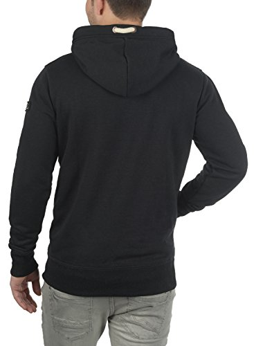 Tacto Con solid Suéter Triphood Black Polar Al Para Sudadera Hombre Hoodie Suave Forro Capucha 6q7UAnq