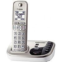 Landline Telephone, Silver Panasonic Cordless Home Office Landline Telephones