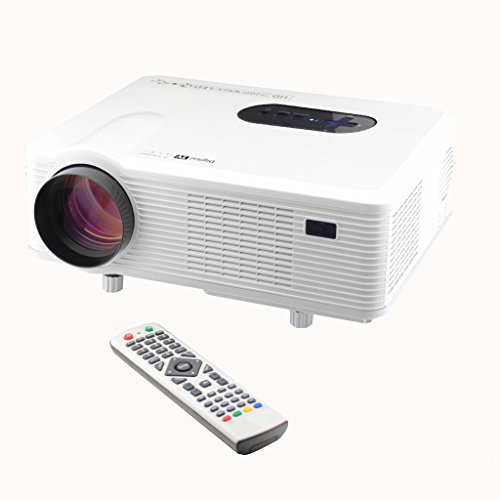 Excelvan CL720 HD Home Cinema Theater Multimedia Projector (3000 Lumens,Native 720P Suppoprt 1080P...