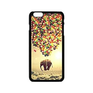 Elephant and colorful balloon Cell Phone Case for iPhone 6