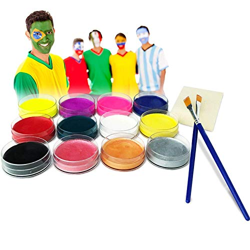 Lasten 12 Colors Face Paint (Water Based Paint) for $<!--$12.98-->