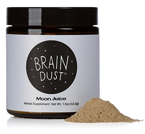 Moon Juice - Organic + Wildcrafted Adaptogenic Potion (Brain Dust, 1.5 oz)