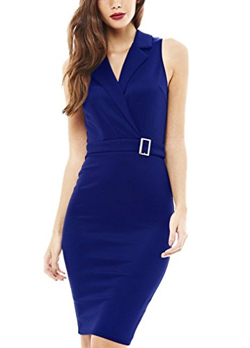 fortric-women-sexy-sleelvess-v-neck-wear-to-work-cocktail-party-ol-pencil-dress-blue-xl