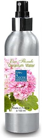 Hidrolato de Geranio 100 ml Agua Floral Spray - Tónico para Piel Grasa Piel con Imperfecciones Piel Normal Piel Madura