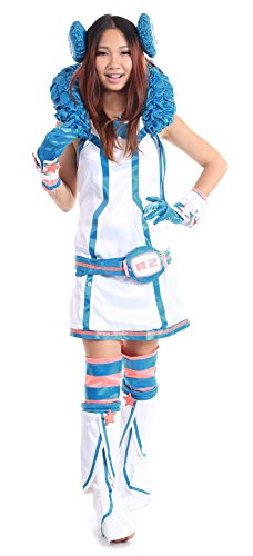 SDWKI (Miki Vocaloid Cosplay Costume)