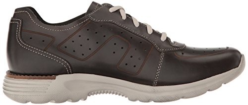 Dansko Mens Wesley Fashion Sneaker Zwart Vintage Pull-up