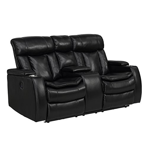 Stylistics Midnight Loveseat, 72