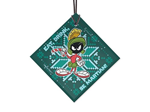 (Looney Tunes Marvin The Martian Pattern Starfire Prints Hanging)