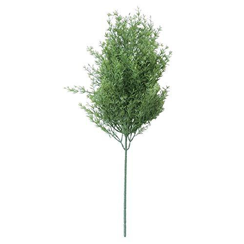 人工観葉植物 アスパラブッシュ(12個セット) ba770 (代引き不可) インテリアグリーン 造花 BUSH B07SXGKG5D