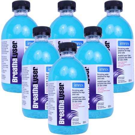Breathalyser 6PACK Water Additive (3000 mL) by Breathalyser