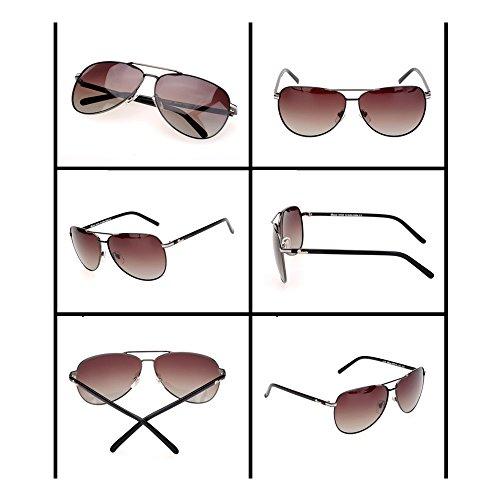carré hipster lunettes grand grenouille en Lunettes soleil de métal cadre soleil cadre plein mode Blanc miroir de visage ZIw8gqYgx6