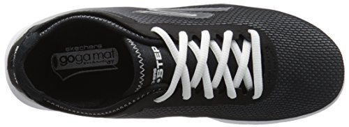 Skechers Performance Womens Go Step Cosmic Walking Shoe Black/White LN7zMo9