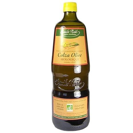 huile colza et olive