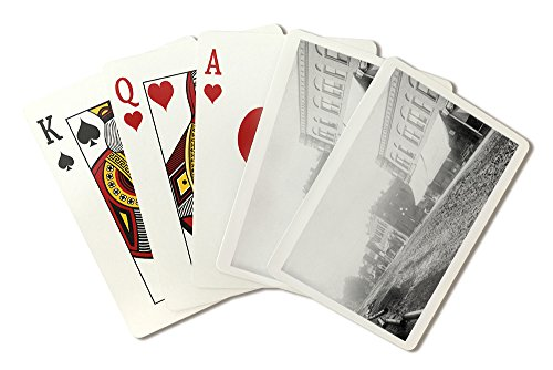 Winfield, Iowa - View of Main Street (Playing Card Deck - 52 Card Poker Size with Jokers)