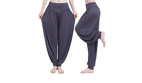 Weimay Yoga Pantalones Pantalones Largos Baggy Pantalones ...