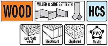 CMT OMM15-X1 Plunge /& Flush-Cut Blade For Wood /& Metal Quick Release Oscillator Multicutter,
