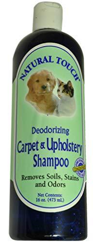 - Nilotron Natural Touch Pet Deodorizing Carpet And Upholstery Shampoo