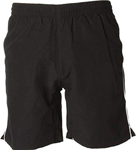 Gamegear ®-Track, Pantaloncini sportivi da uomo nero/bianco X-Small