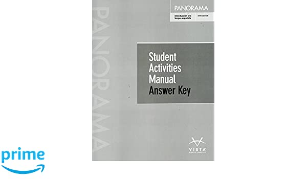 Panorama 5th ed sam answer key donley blanco 9781680043440 amazon panorama 5th ed sam answer key donley blanco 9781680043440 amazon books fandeluxe Images