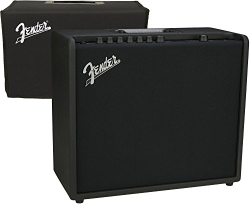 Fender Mustang GT 100 Digital Combo Electric Guitar Amp w/ Cover by FMIC